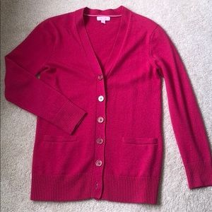 Lilly Pulitzer Women's 100% Cashmere Cardigan